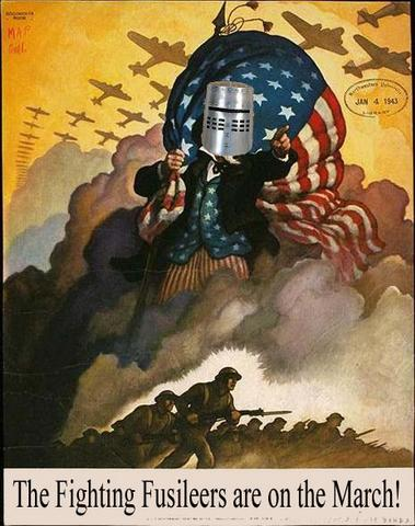 Join the Fighting Fusileers for Freedom!
