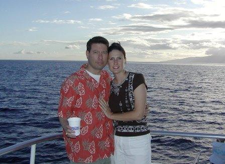 Sailing into the Maui Sunset